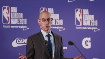 NBA awkwardly unveils futuristic jerseys