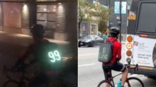 Vancouver Cyclist Raises Awareness Of Transit Woes With Hilarious Backpack