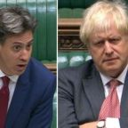 Ed Miliband tells Boris Johnson to stop blaming others for his Brexit 'mess' as PM defends power to break international law