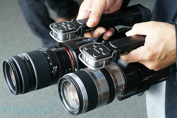 Sony announces NEX-VG30 and full-frame NEX-VG900 Handycams, we go hands-on