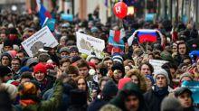 Ally of Kremlin critic Navalny arrested over tweet