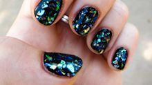 DIY the Hottest New Nail Trend: The Shattered Glass Manicure