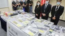 Hong Kong police smash triad gang tied to burglaries, drug trafficking in three-day operation that nets 15 arrests