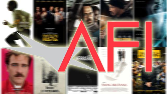 AFI Names Top 10 Films of 2013
