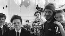 Así ha celebrado David Beckham su 42 cumpleaños