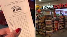 Gold Lotto winner claims $1m after playing same numbers for 20 years