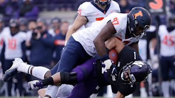'Severe' spinal injury for Illinois DL Rountree