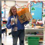 Coronavirus: Teacher goes the extra mile for her students during pandemic