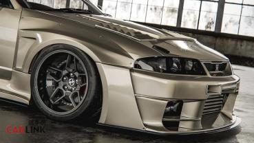 「最軟」變「最硬」!Nissan R33 Skyline GT-R「超硬派」大暴龜裝