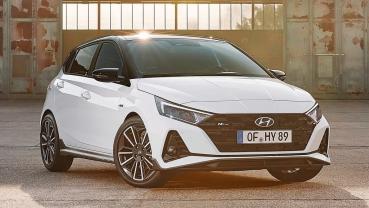 現代汽車旗下掀背小車全新i20追加改款i20 N Line性能版