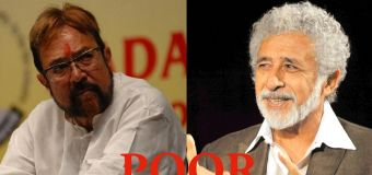 "Naseeruddin Shah calls Rajesh Khanna ""poor and less Intellectual"""