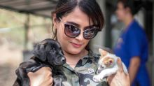 In Pics: Richa Chadha Spends Quality Time With Rescue Pups
