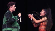 Justin Bieber hace primera aparición pública en dos años junto a Ariana Grande