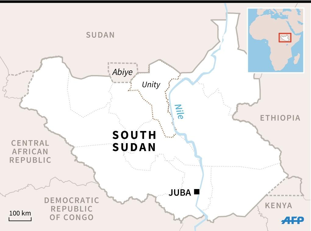 South Sudan is the world's youngest country having gained its independence from Sudan in 2011 (AFP Photo/)