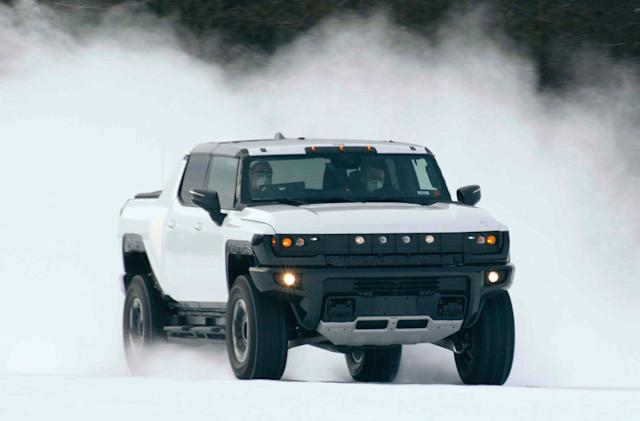GM teases more Hummer EV news with sub-zero test footage