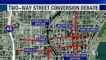Downtown Milwaukee Roads Could Become Two-Way