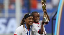 Jessica McDonald, a 2019 World Cup winner, embracing role of 'veteran mom' in NWSL