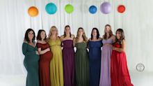 8 Moms Who Experienced Loss Celebrate Their Rainbow Babies In Sweet Photo Shoot