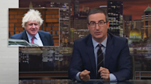 John Oliver says Boris Johnson's 'bumbling persona' is 'a carefully calibrated act'