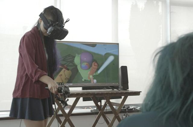 Build a 'Fantastic Contraption' in virtual reality with the Vive