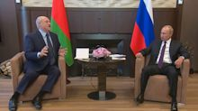 'Big brother' Putin props up Lukashenko – for now