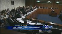 Senator Udall votes against military action in Syria