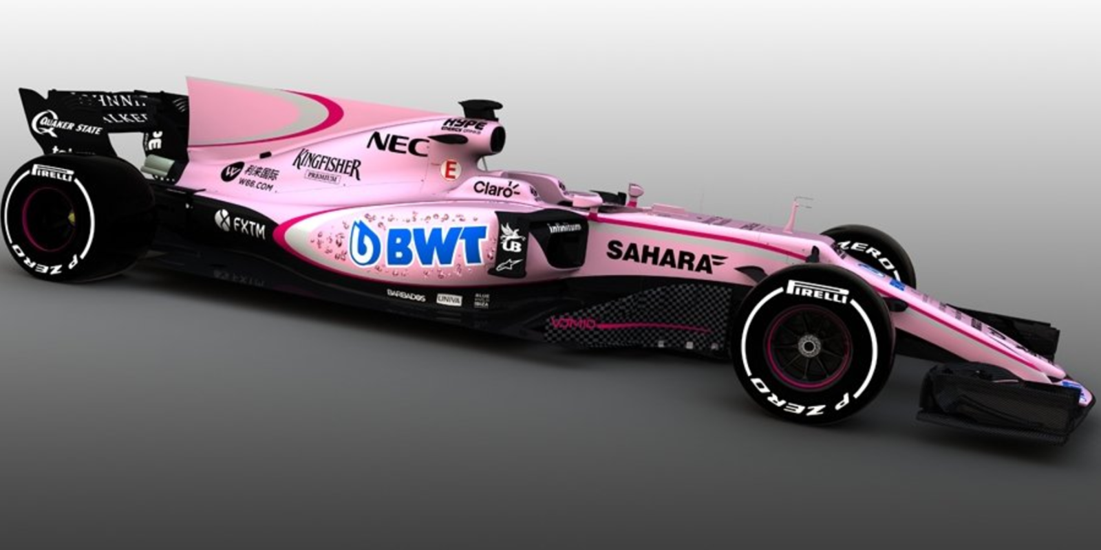 Formula one team paints car interesting color for Abc motor credit gilchrist rd