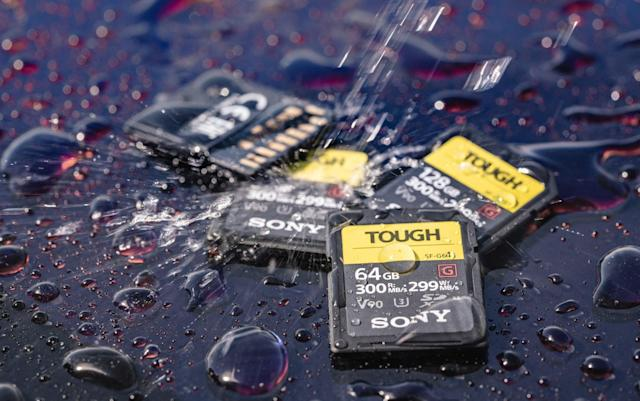 Sony's ultra-fast SD cards are designed to be abused