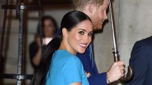 Meghan Markle ditches her signature nude lip in favour of bold berry gloss — shop our top picks