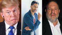 Eric Benét compares Donald Trump to Harvey Weinstein