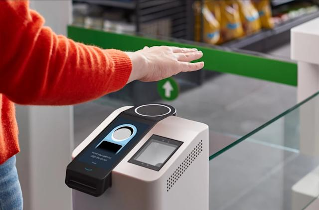 More Amazon Go stores are getting contactless One palm readers