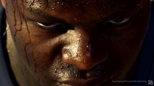 'NBA 2K21' PS5 preview shows us next-gen sweat