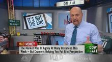 Cramer's game plan: Stop the hysteria and use weakness to...