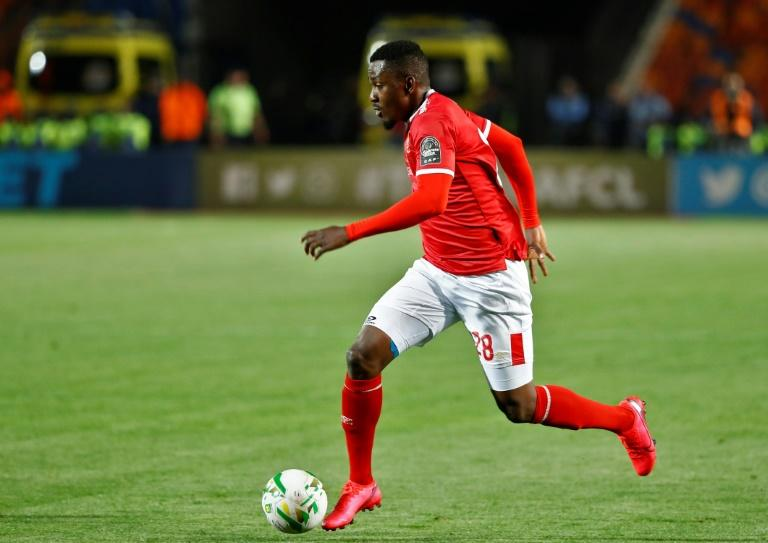 Nigerian Junior Ajayi has scored five goals this season for runaway Egypt Premier League leaders Al Ahly