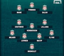 How Liverpool could line up with Mohamed Salah