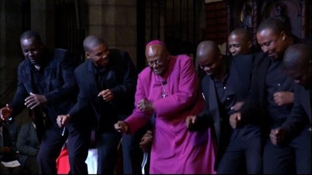 S. Africa's Desmond Tutu wins Templeton Prize