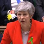 How does Theresa May's plan for a new Commons vote on her Brexit deal affect those hoping to succeed her?