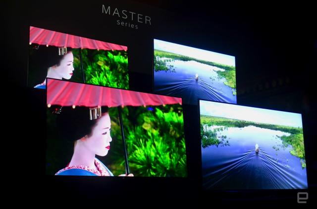 Sony unveils the Bravia Master Series, its latest high-end TVs