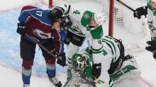Avs ride 5-goal 1st period to 6-3 win over Stars in Game 5