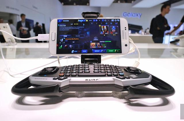Mad Catz has a gaming pad for Samsung's Galaxy S7 and S7 Edge
