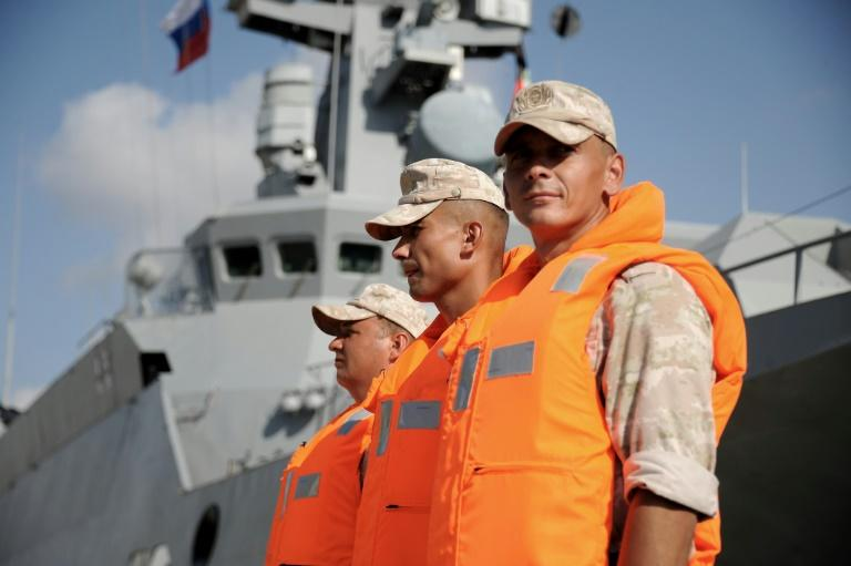 Some 3,000 Russian service personnel are now deployed in Syria, principally at its naval facility in the Mediterranean port of Tartus or the Hmeimim airbase near President Bashar al-Assad's home town of Latakia (AFP Photo/Maxime POPOV)