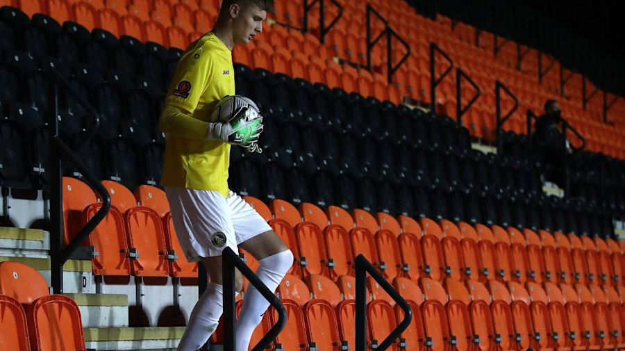 Meet Archie Mair: the King's Lynn goalkeeper tasked with shutting out Portsmouth in the FA Cup