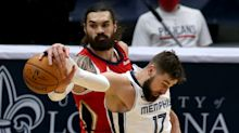 Report: New Orleans trades Steven Adams, Eric Bledsoe and picks to Memphis for Jonas Valanciunas and picks