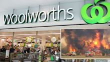 Woolworths offers emergency bushfire workers exclusive discount