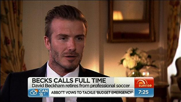 Beckham gives reasons for retirement