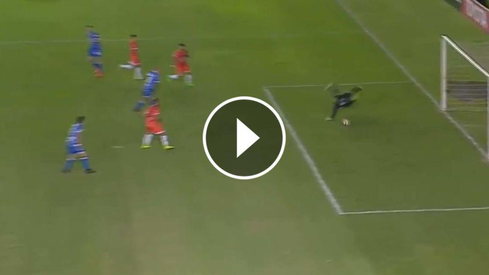 VIDEO: ¡Tremendo golazo! Giménez la pisó y definió para darle la victoria a Godoy Cruz