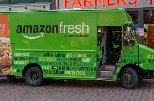 Amazon Fresh deliveries are now free for Prime members
