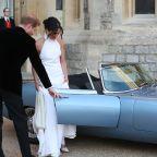 Inside Meghan Markle and Prince Harry's Royal Wedding Reception