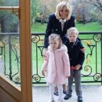 Brigitte Macron Just Had Tea with Princess Charlene of Monaco and Her Twins