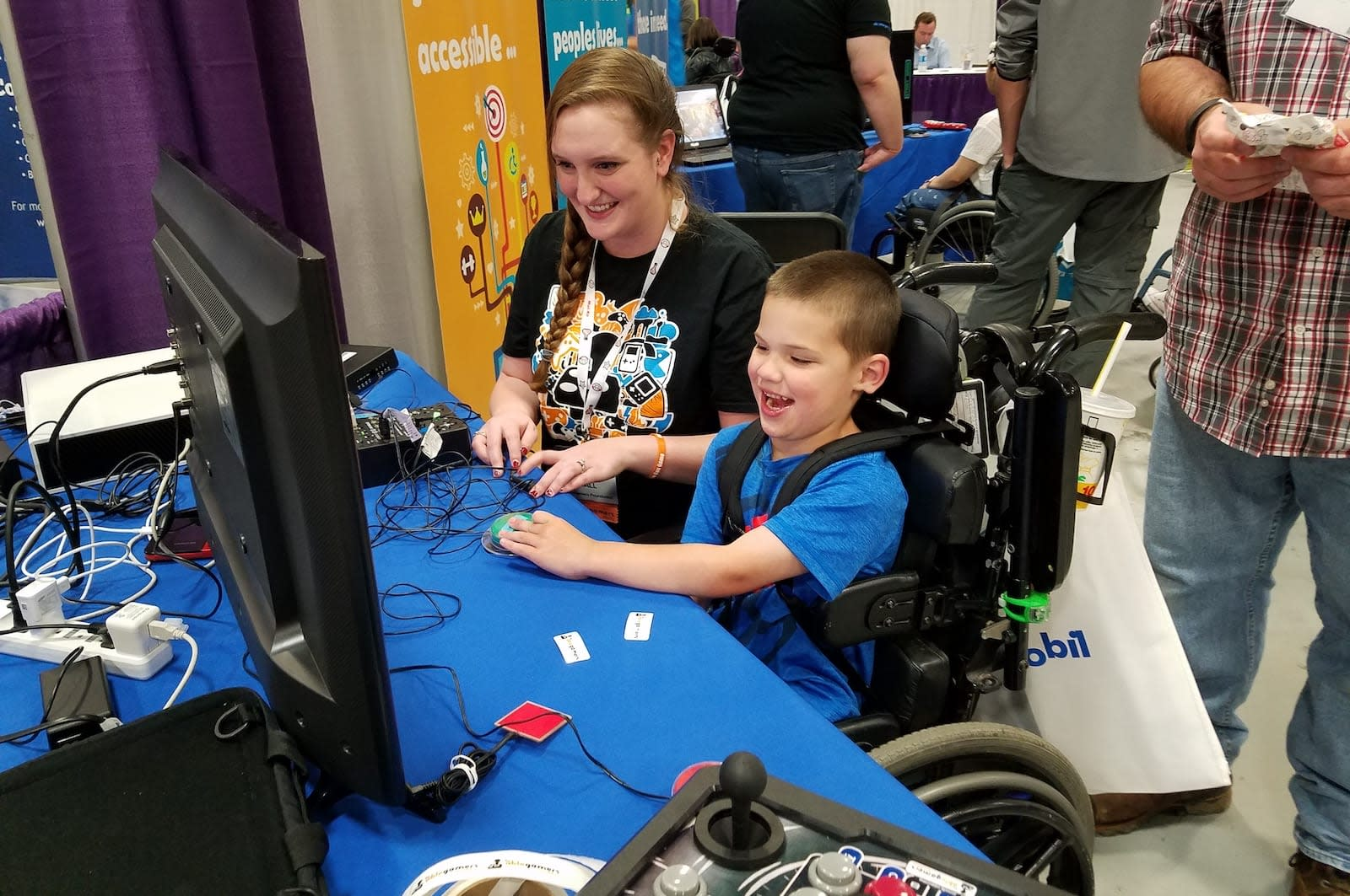 AbleGamers at the NY Abilities Expo 2016